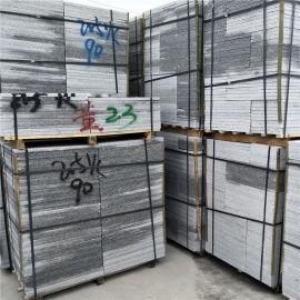 芝麻白荔枝面规格板 细花荔枝工程板