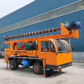 车载式民用建筑地基打桩机 小型长螺旋地基打桩机