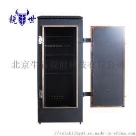 锐世22U电磁屏蔽机柜 保护数据泄露宽700深1000