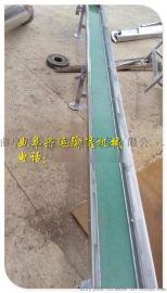 药厂专用输送设备 轻型铝型材皮带输送机 转弯皮带输送机
