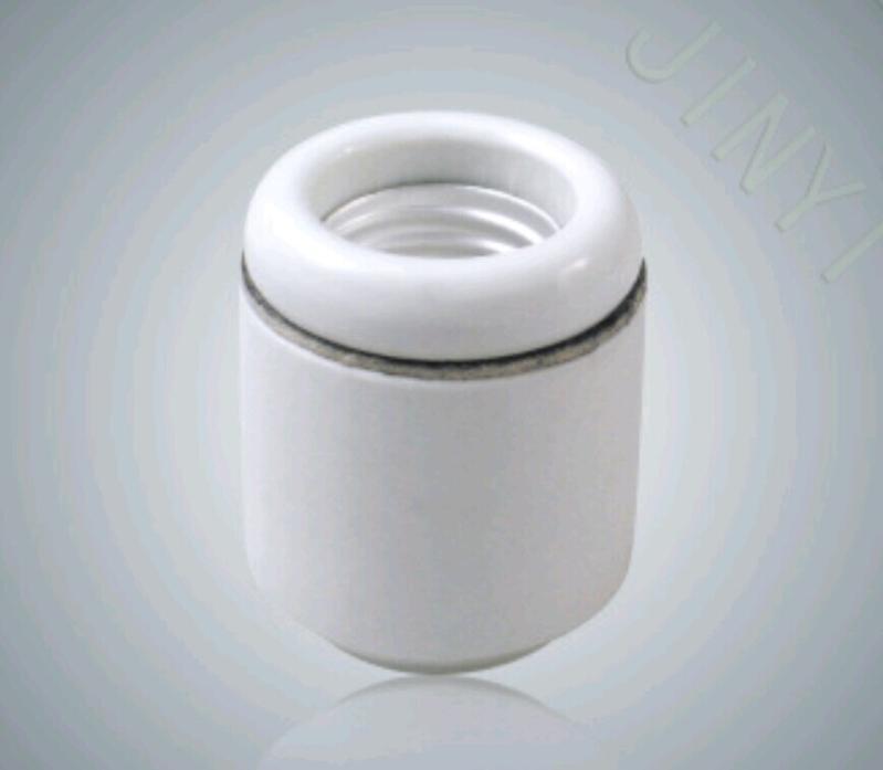 美規UL認證E26陶瓷燈頭燈座螺紋瓷燈頭歐盟SGS環保認證