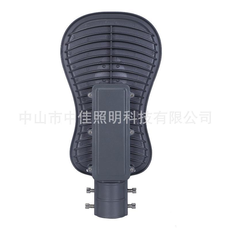 厂家推荐led太阳能路灯外壳 压铸铝集成路灯头50W太阳能灯外壳
