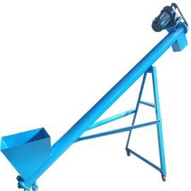 垂直型螺旋提升机 工业粉剂螺旋添料机78
