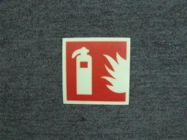 夜光PVC标志牌,夜光PVC灭火器标志,消防警示标志,夜光地贴