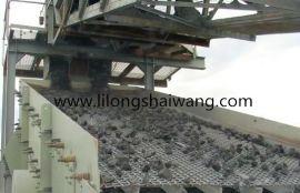 安平利龙丝网供应锰钢轧花网/黑钢轧花网