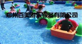 安徽新款水上兒童手搖船