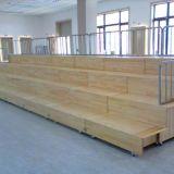 中學教室合唱臺階舞臺架 木質伸縮合唱排練臺