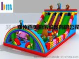 貴州安順廣場上擺放兒童充氣蹦蹦牀價格