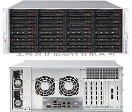 超微機箱 CSE-846BE16-R920B 4U 24盤 3.5寸 熱插拔 冗電機箱