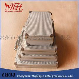 多规格铝箱工具箱、厂家供应铝合金金属箱  EVA模型套装工具箱