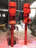 上海长轴消防泵XBD6.0/50GJ深井消防泵