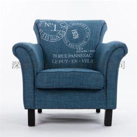 众美德定制沙发卡座|皮布沙发|单人沙发|特价促销