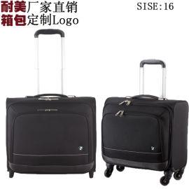 16寸行李箱EVA牛津布拉杆箱耐磨旅行箱