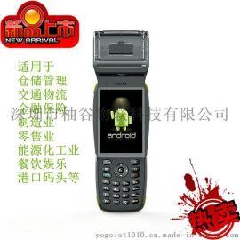 新款热销PDA 终端热敏打印机 安卓仓库盘点机 一二维数据采集器