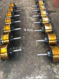 河南车轮组生产厂家,车轮组图纸,φ700双边轮组,被动轮组,车轮组型号