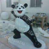 现货供应 玻璃钢景观雕塑卡通大熊猫 店铺幼儿园主题公园展示