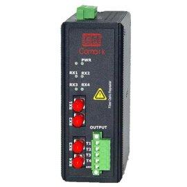 编码器TTL/HTL 信号 光纤转换器