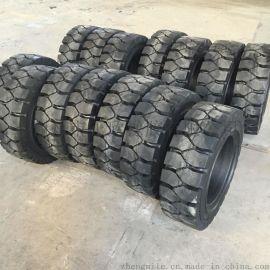 多功能台车实心轮胎 工业实心轮胎300-15