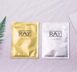 广州面膜厂家长期生产供应泰国RAY 芮一蚕丝面膜批发