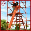 建宇批发 香蕉式安全爬梯 桥梁施工墩柱脚手架 安全稳固 厂家直销