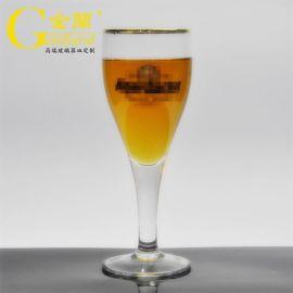 定制德国小麦啤酒玻璃杯高脚玻璃啤酒杯皮尔森啤酒杯
