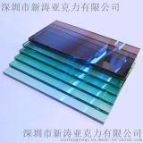 新涛挤压板定做PMMA彩色亚克力板奶白透明半透明茶色黑色有机玻璃板材