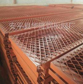 低碳钢板网,平台脚踏网,水利重工菱形金属网格