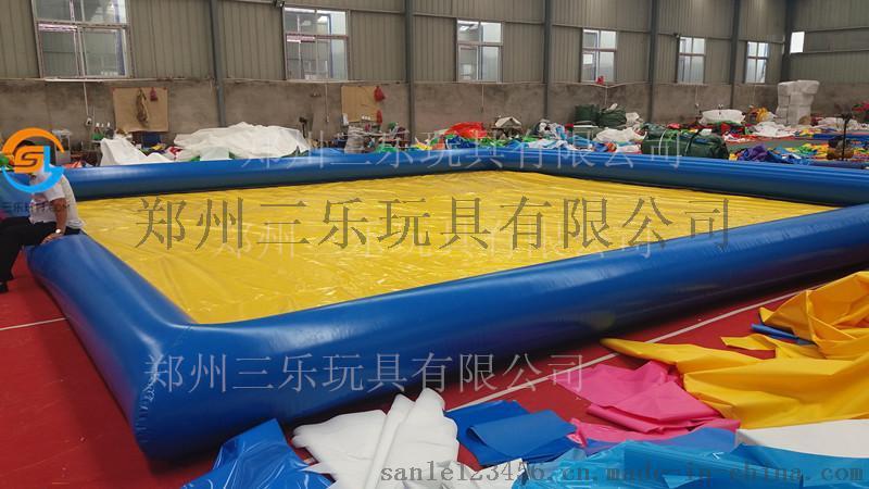 河北唐山充气游泳池移动小型水乐园