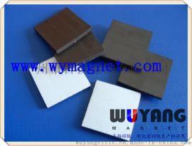 供應硬碟墊片,精密儀器底座,設備固定橡膠磁磁鐵