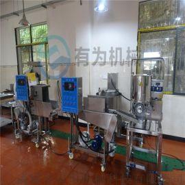 肉饼成型机,汉堡肉饼成型生产线,Y肉饼生产设备