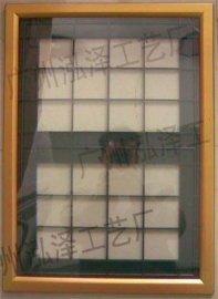 洗手间广告框