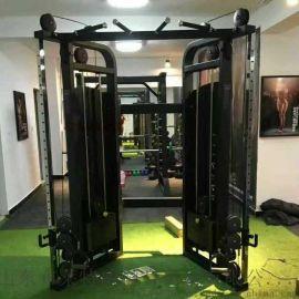 山东健身房健身器材厂家 小飞鸟龙门架训练器