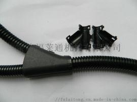 阻燃开口尼龙软管电厂整修保护套管 开口无需穿线