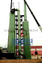 不锈钢阳极管厂湿式电除尘器脱硫塔原理脱硫塔