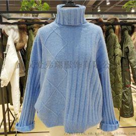 广州女装厂家直销走份小愚秋冬装新款長袖毛衣