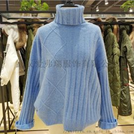 廣州女裝廠家直銷走份小愚秋冬裝新款長袖毛衣