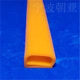防水阻燃耐高温e字硅胶密封条