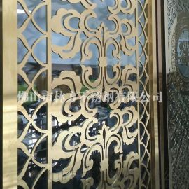 石家庄厂家供应 钛金 古铜 镜面拉丝 不锈钢屏风