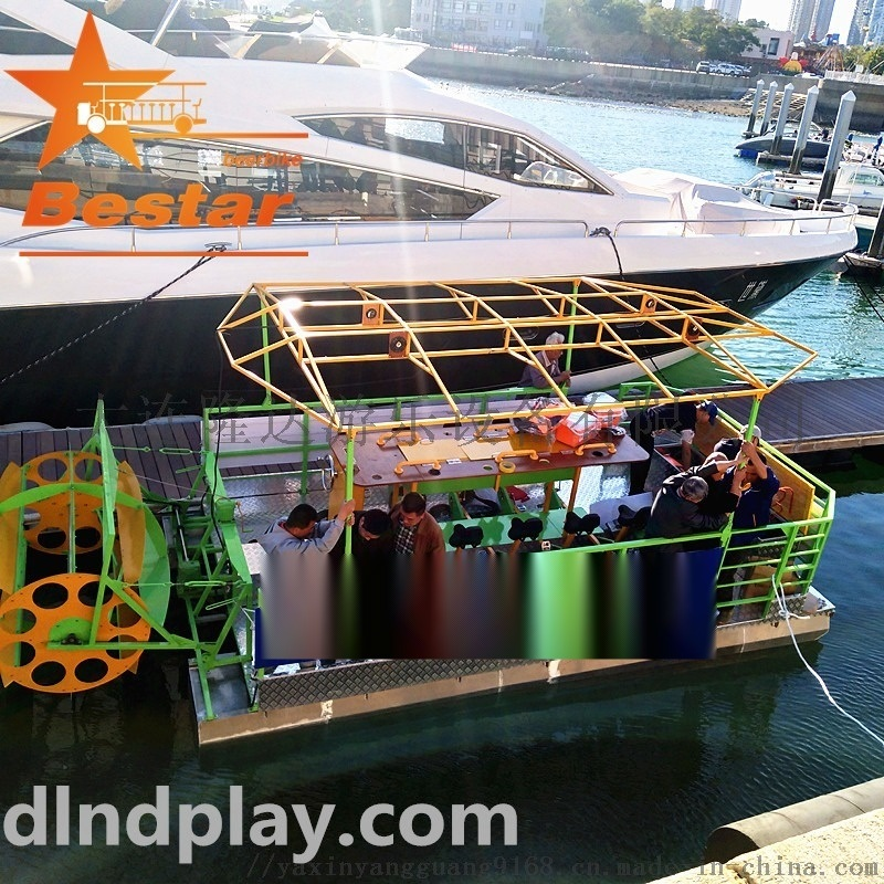 脚踏旅游观光船,观光自行车船,观光车