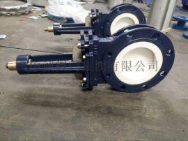 PZ673TC气动陶瓷刀闸阀,陶瓷刀闸阀厂家