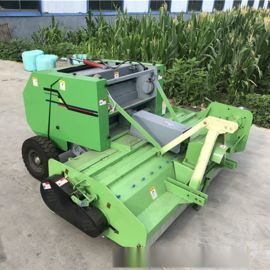 收割苞米秸秆粉碎打捆机 新型粉碎压捆机