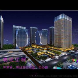 惠州灯饰工程外墙灯光,广东楼体亮化,夜景照明