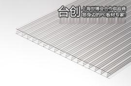 洪雅县10mm草绿阳光板 10mm乳白阳光板