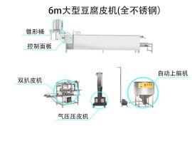 供应小型豆腐皮机省空间 厂家直销全自动豆腐皮机