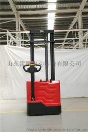 电动托盘堆垛车厂家 自动堆高铲车 升降叉车