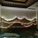 酒店輕奢花格玄關屏風 不鏽鋼簡約古典屏風定製