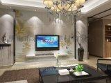 佛山陶瓷背景廠家個性定製彩虹石品牌簡約現代客廳電視背景牆瓷磚 夢幻花朵 藝術瓷磚壁畫 水中花 3D立體瓷磚背景牆