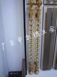 厂家直销豪玻璃门拉手 欧式水晶不锈钢玻璃门拉手 木门把手