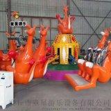 大型游乐设备 袋鼠跳童星游乐实力商家销售安全环保