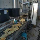 連續式薄脆餅油炸機、炸脆皮的設備廠家、薄脆油炸線